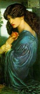 Dante Gabriel Rossetti's Persephona