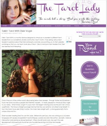Talkin' Tarot with Theresa Reed Interview