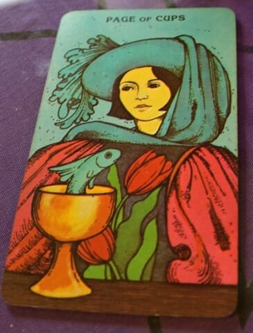 Page of Cups Morgan-Greer