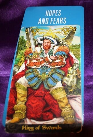 King of Swords Meaning